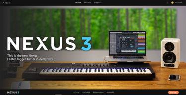 急いでいる時に大活躍〜reFX「Nexus」をバージョンアップした。