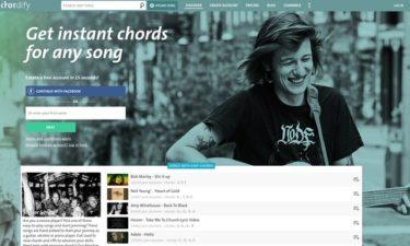 Youtubeの楽曲のコード進行を解析してくれるサイト『Chordify』