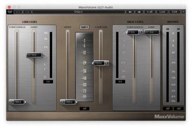 Waves 『MaxxVolume』が今なら無料でダウンロードできる!
